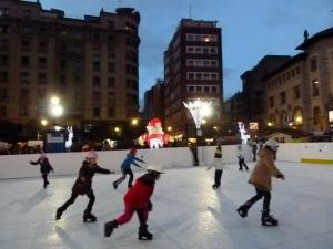 pista patinaje gijon